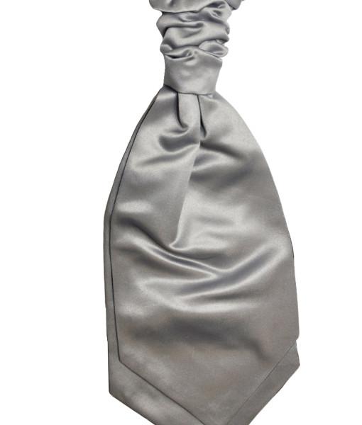 cravattone cravatta argento  grigio argento