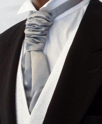 img-4228Mens Silver Grey Scrunchie Cravat Wedding Waistcoat