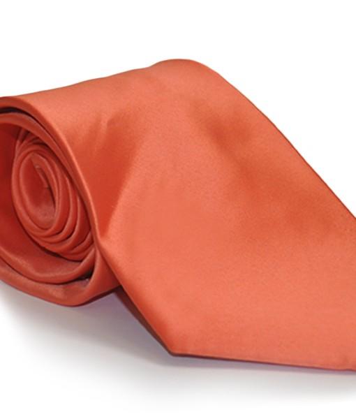 cravatta arancione