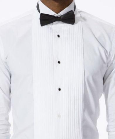 comprare popolare 24d90 37ecf Camicia Diplomatica Plisse Bottoni a Vista