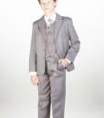 abito grigio chiaro bambino