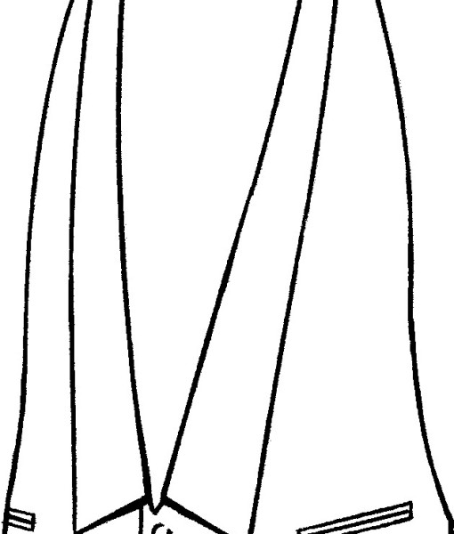 gilet frac piquetgilet frac disegno