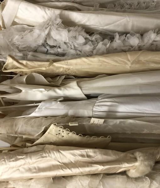 Stock dieci abiti sposa